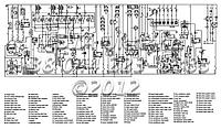 Электрическая схема на Hidromek 102B