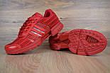 Мужские кроссовки Adidas ClimaCool красные. Живое фото. Реплика, фото 5