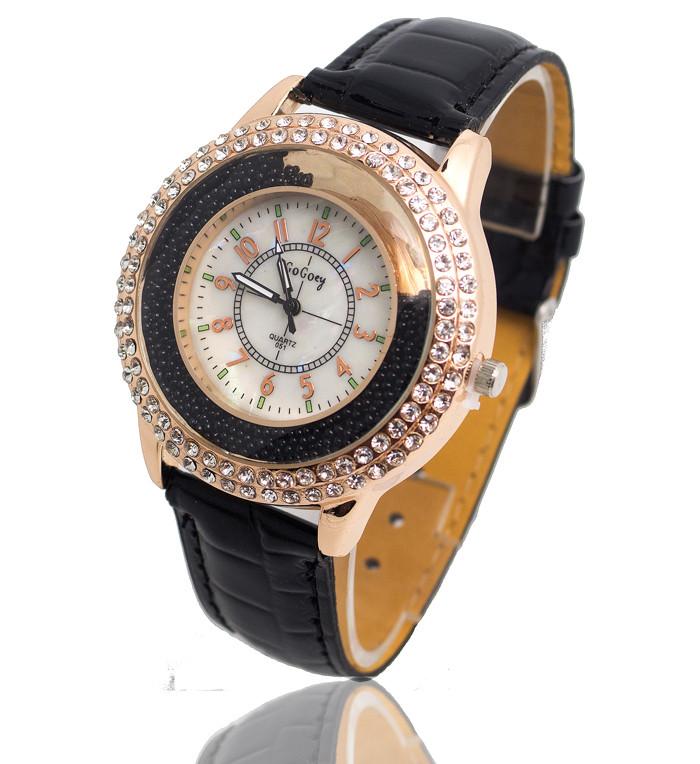 Женские часы gogoey Crystal россыпь черные 51-01