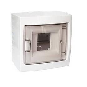 Бокс на 4 автомата, наружный, с дверцей, BYLECTRICA (02-57-03) шт.