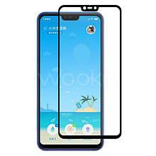 Защитное стекло Full Glue для Xiaomi Mi 8 Lite/Redmi Note 6