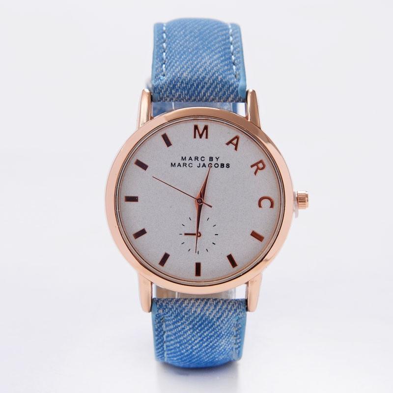Годинник Marc синій ремінець 079-1