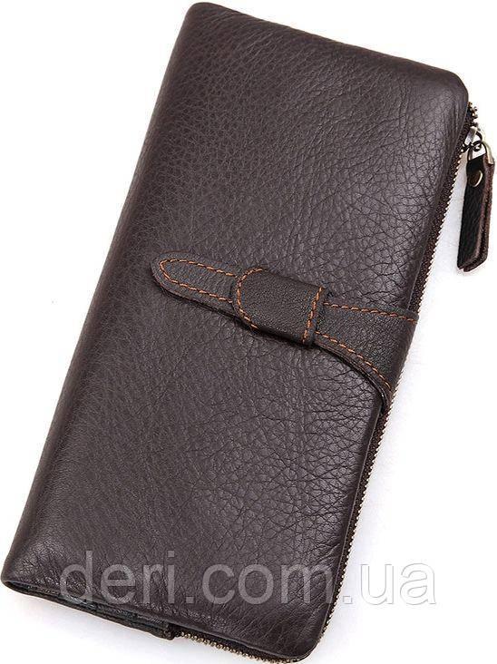Кошелек женский Vintage 14599 кожаный Коричневый, Коричневый