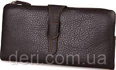 Кошелек женский Vintage 14599 кожаный Коричневый, Коричневый, фото 3