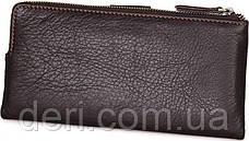 Кошелек женский Vintage 14599 кожаный Коричневый, Коричневый, фото 2