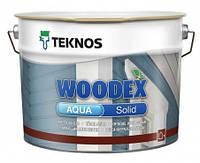Водорозчинний покривний антисептик для дерева Teknos Woodex Aqua Solid 9л