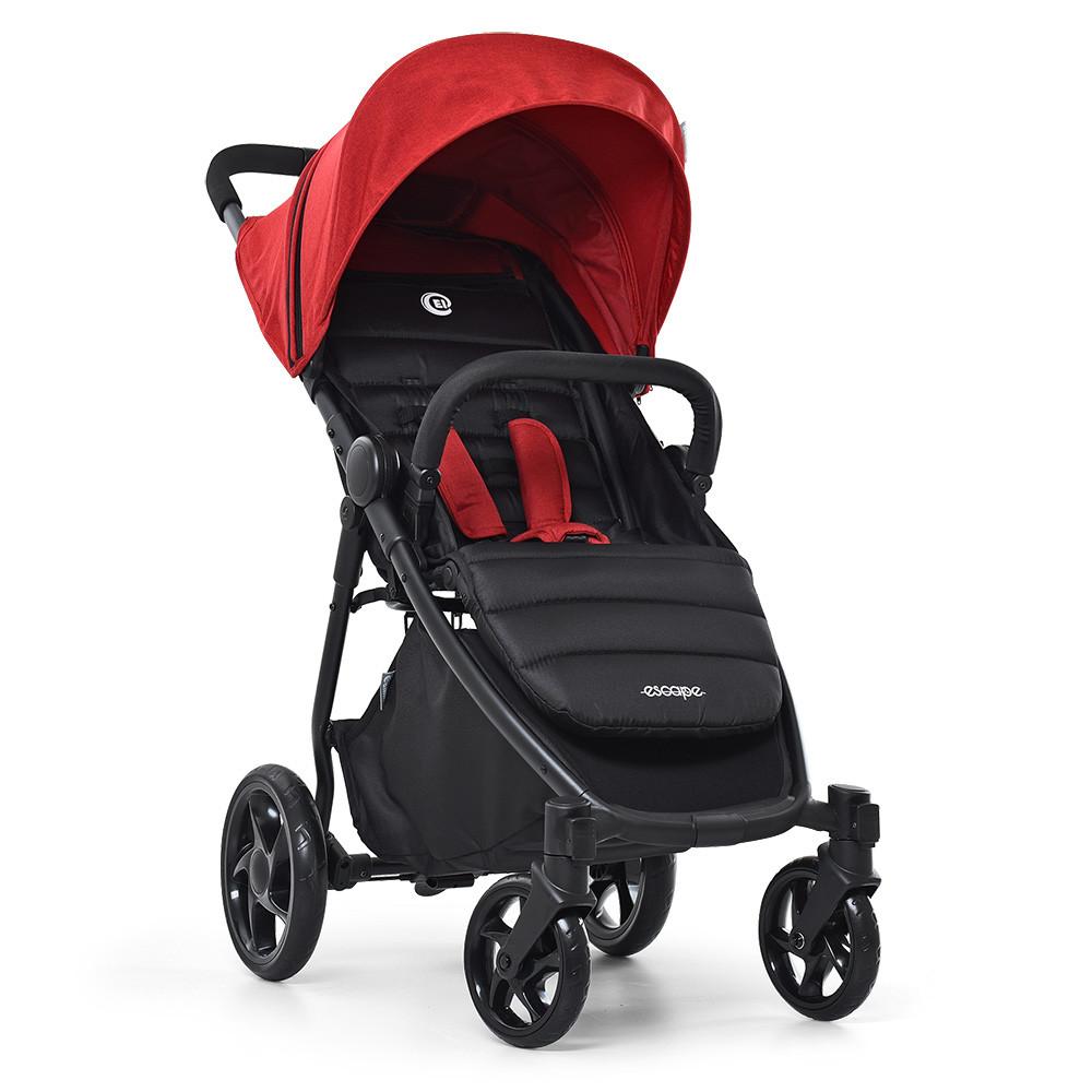 Коляска детская ME 1032L ESCAPE EL CAMINO Crimson Black Бордовый