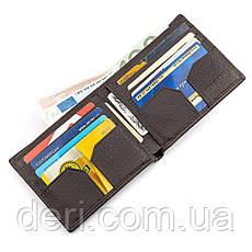 Мужской кошелек кожаный , Коричневый, фото 2