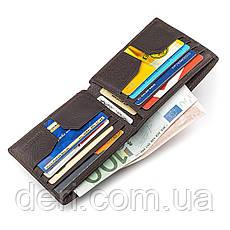 Мужской кошелек кожаный , Коричневый, фото 3