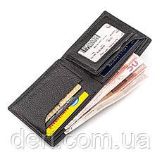 Мужской кошелек ST Leather 18319 (ST160) кожаный Черный, Черный, фото 3