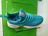 Женские кроссовки Adidas Alpha Bounce Blue, фото 5