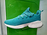 Женские кроссовки Adidas Alpha Bounce Blue, фото 7