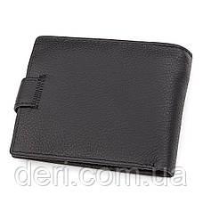 Мужской кошелек ST Leather 18328 (ST137) итальянская кожа Черный, Черный, фото 2