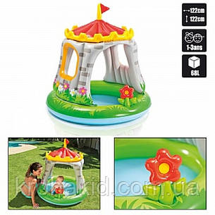 """Детский надувной бассейн Intex 57122 NP - """"Королевский дворец"""" 122х13 см., фото 2"""