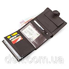 Мужской кошелек ST Leather  вертикальный Коричневый, Коричневый, фото 3