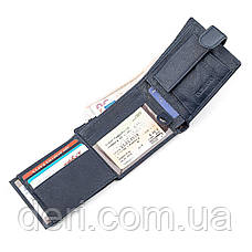 Мужской кошелек ST Leather 18333 (ST102) удобный Синий, Синий, фото 3