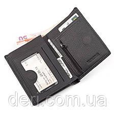 Мужской бумажник, Черный, фото 3
