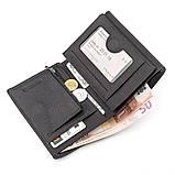 Мужской бумажник, Черный, фото 5