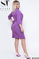 Стильне лаконічне плаття для повсякденних образів з 50 по 56 розмір, фото 2