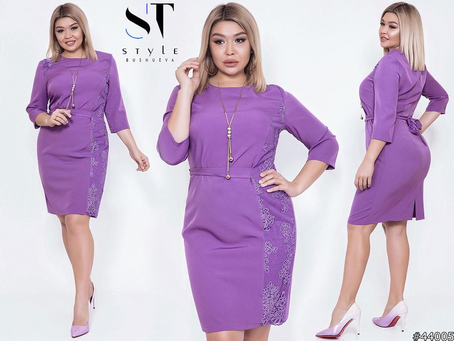 Стильне лаконічне плаття для повсякденних образів з 50 по 56 розмір