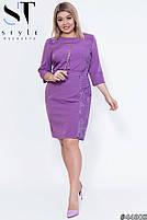 Стильне лаконічне плаття для повсякденних образів з 50 по 56 розмір, фото 3