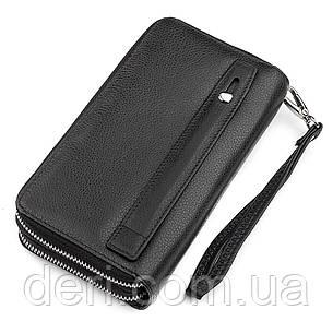 Мужской кошелек ST Leather 18451 (ST127) натуральная кожа Черный, Черный, фото 2