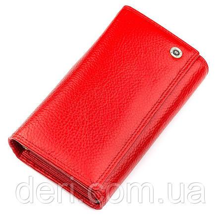 Кошелек женский  яркий Красный, фото 2
