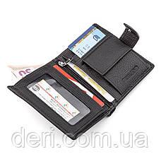 Мужской кошелек вертикальный, Черный, фото 3