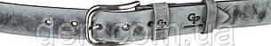 Ремень мужской Grande Pelle 11062 под джинсы Серый, Серый, фото 2
