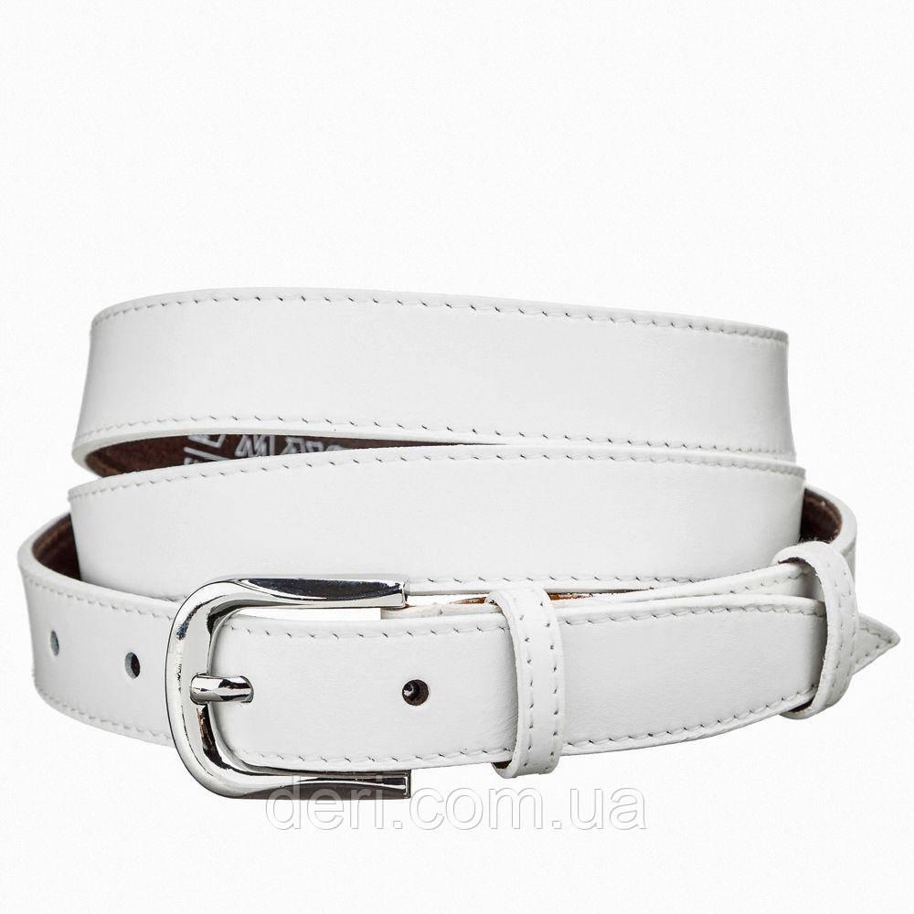 Ремень кожаный MAYBIK 15231 Белый, Белый