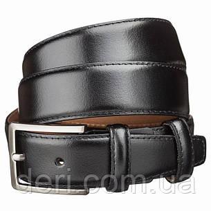 Ремень брючный MAYBIK 15261 Черный, Черный, фото 2