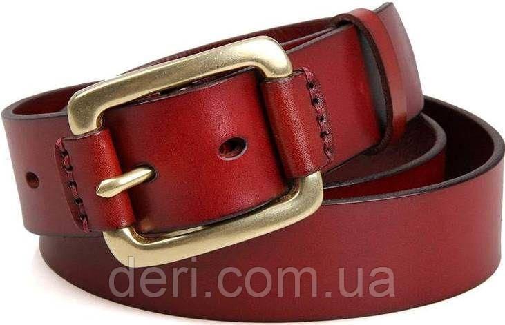 Ремень мужской Vintage 14525 Коричневый, Коричневый