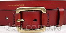 Ремень мужской Vintage 14525 Коричневый, Коричневый, фото 3