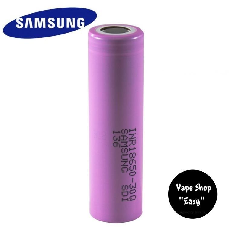 Samsung INR18650 30Q 18650 3000mah 30A Аккумулятор для вейпа, электронных сигарет.