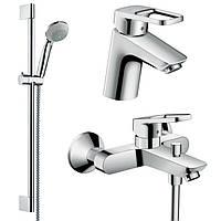 Logis Loop  Набор смесителей для ванны ,умывальник 70 (71150000+71244000+27728000)