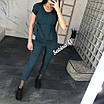 Модный женский костюм с укороченными брюками 7/8, фото 5