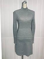 Платье Soсieta трикотажное серое, фото 1