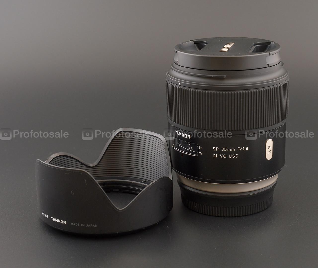 Tamron SP 35mm f/1.8 Di VC USD для Canon