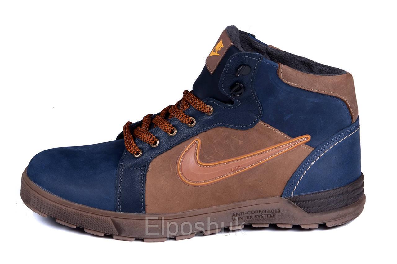 e2e470ce Мужские зимние кожаные ботинки Nike Anti-Core (реплика) - Elposhuk в Киеве