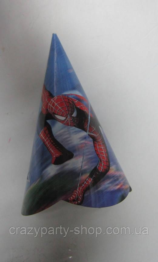 Колпачок на голову Спайдермен 13 см
