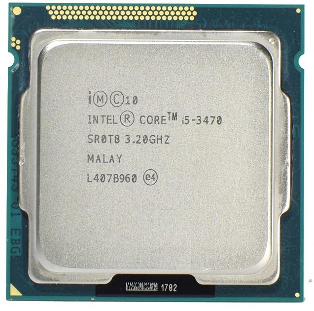 "Процессор Intel Core i5-3470 BX80637I53470 3.2GHz Socket 1155 Tray ""Over-Stock"" Б/У"