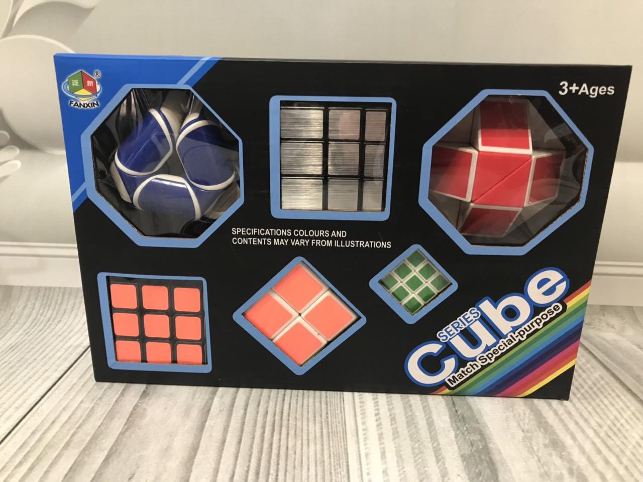 Логическая игра кубик-рубика