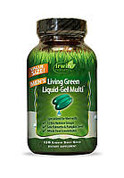Мультивитамины для мужчин Irwin Naturals, Living Green Liquid Multi, 120 капсул