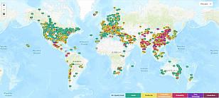 Світове забруднення повітря: Індекс якості повітря в режимі реального часу.
