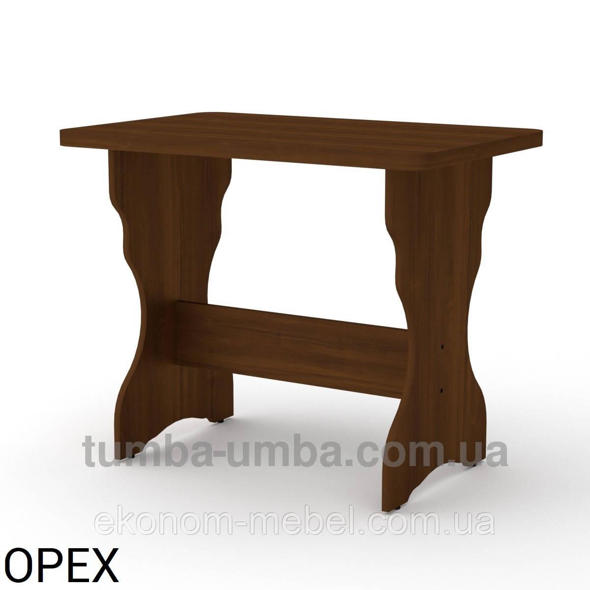 Кухонный стол КС-2 нераскладной толстая столешница