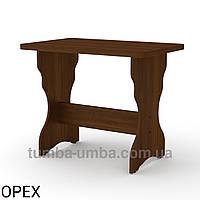 Кухонный стол КС-2 нераскладной толстая столешница, фото 1