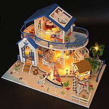 """3D Румбокс """"Морський бриз"""" - Ляльковий Дім Конструктор / DIY Doll House від CuteBee"""