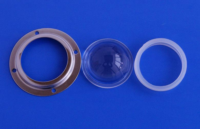 Линза для мощных светодиодов LED Lens 10-100W 45° 52mm