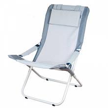 Шезлонг Ranger Comfort 2 (1010х900х620мм), сірий