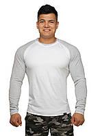 Реглан Long Sleeve BERSERK white/grey (размеры в ассортименте)